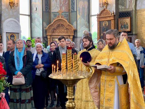 День памяти святых Петра и Февронии Муромских отметили в храме на Поклонной горе