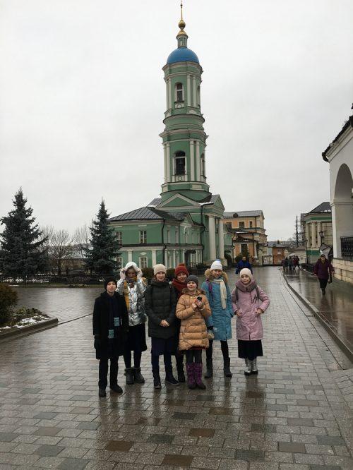 Старшая группа воскресной школы храма святителя  Димитрия Ростовского в Очаково посетила Оптину Пустынь
