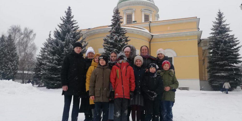 Учащиеся воскресной школы храма свт. Димитрия Ростовского в Очакове побывали в Даниловом монастыре