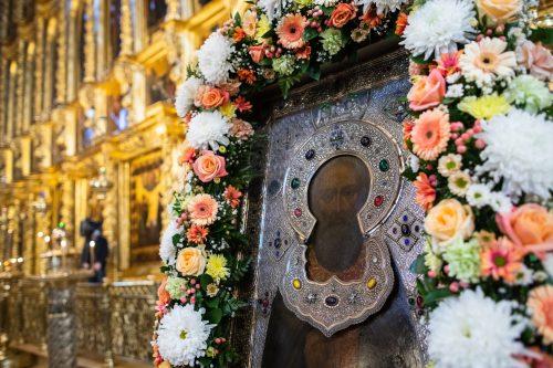 В день преставления прп. Сергия Радонежского епископ Павлово-Посадский Фома отслужил с духовенством литургию в Троице-Сергиевой Лавре