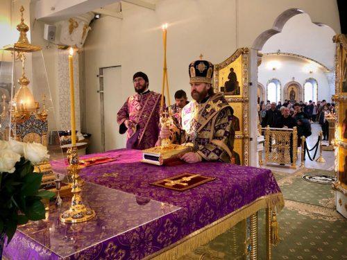 Епископ Фома совершил первую Божественную литургию Великого поста в Переделкино