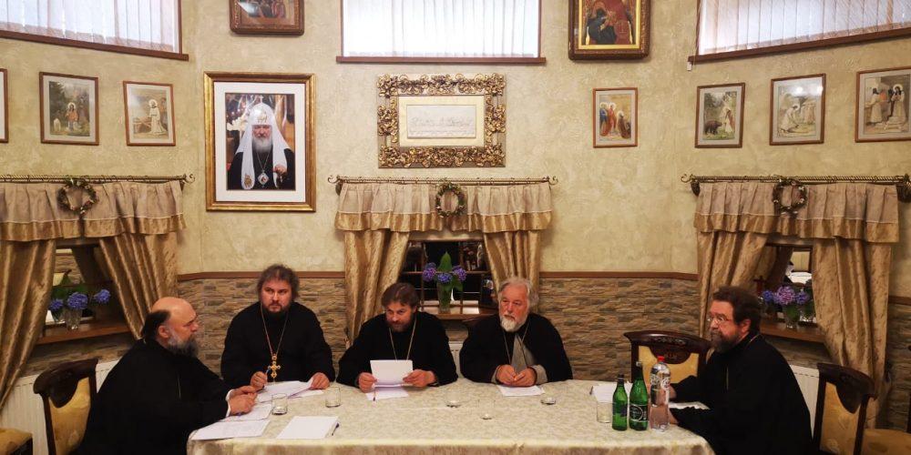 Состоялось заседание Совета Западного викариатства