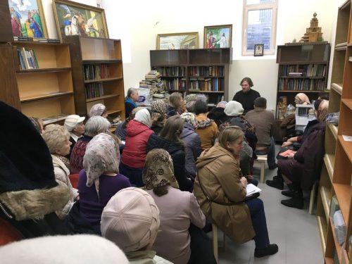 Воскресная школа для взрослых при храме преподобного Андрея Рублева в Раменках открылась в новом здании