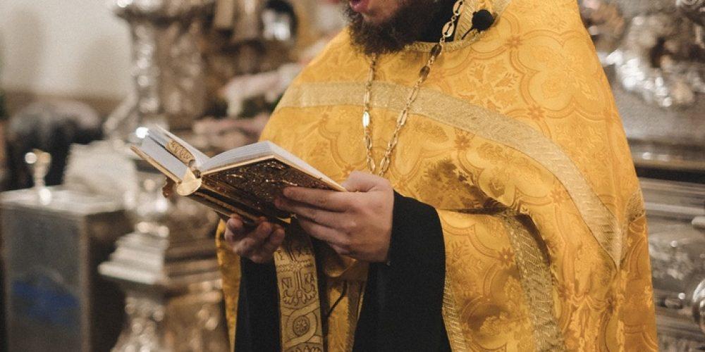 Молебен в Покровском монастыре в день церковного Новолетия совершил заместитель председателя Синодального отдела по делам молодёжи