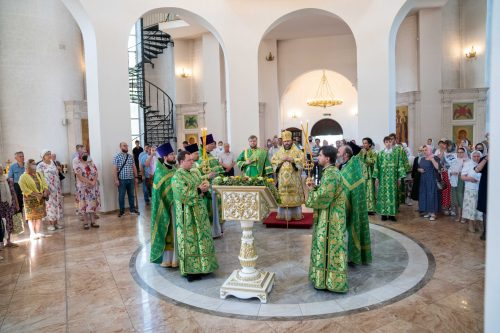 Владыка Фома с архипастырским визитом посетил город Краснознаменск