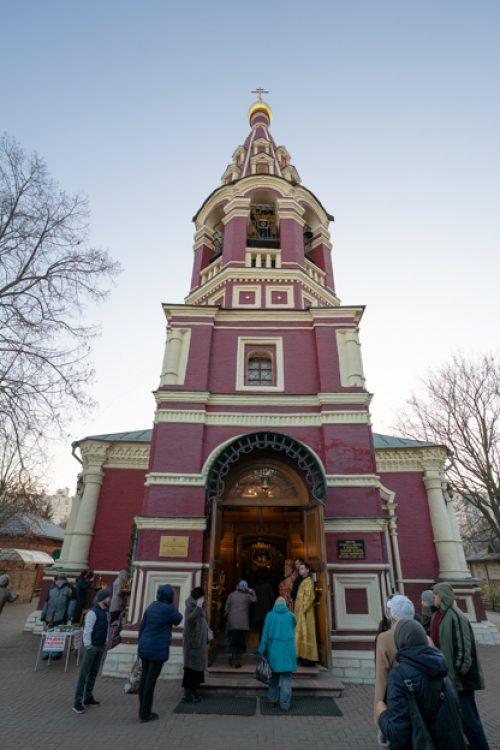 Престольный праздник храма Архангела Михаила в Тропареве 21 ноября 2019 (ВИДЕО)