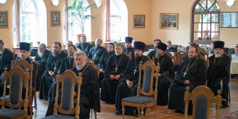 Епископ Фома возглавил VIII Пастырскую конференцию Западного викариатства