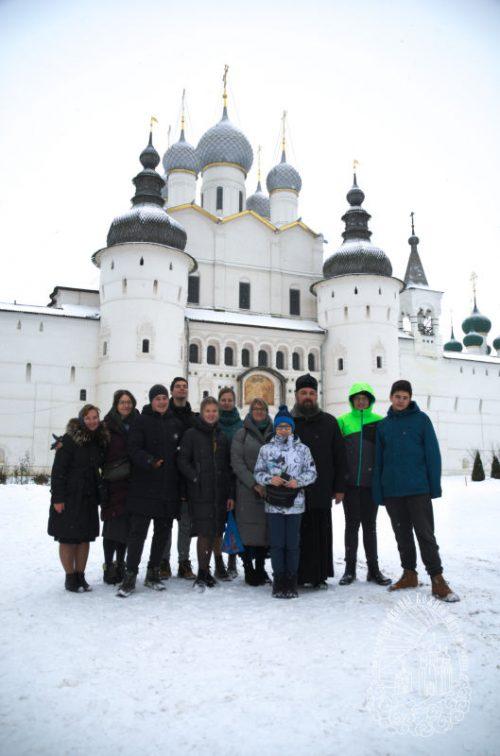 Состоялась поездка старшего класса воскресной школы храма Казанской иконы Божией Матери в Орлово в Ростов Великий