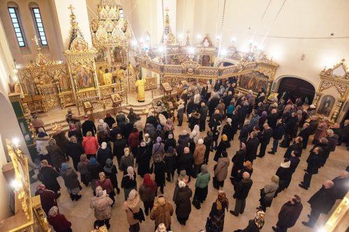 Престольный праздник в храме святого благоверного князя Александра Невского при МГИМО (ВИДЕО)
