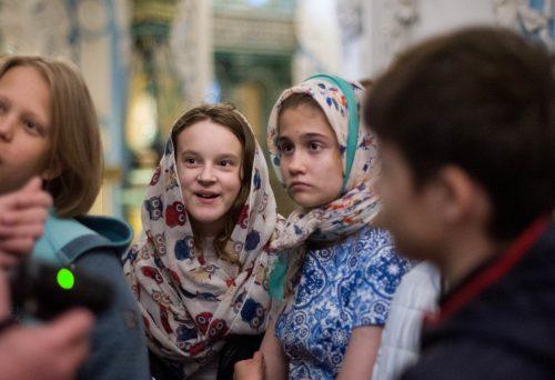 Выпускники воскресной школы храма преподобного Сергия Радонежского посетили Ново-Иерусалимский монастырь