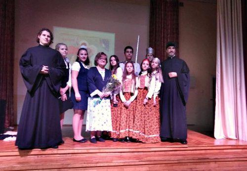В ГБОУ «Школа № 97» прошел вечер, посвященный великомученику Георгию Победоносцу