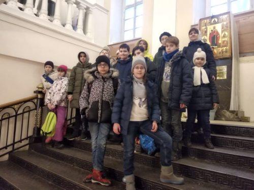 Для учеников воскресной школы храма Архангела Михаила в Тропареве провели выездной урок
