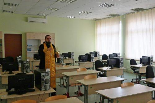 Состоялось малое освящение здания общеобразовательной школы № 56
