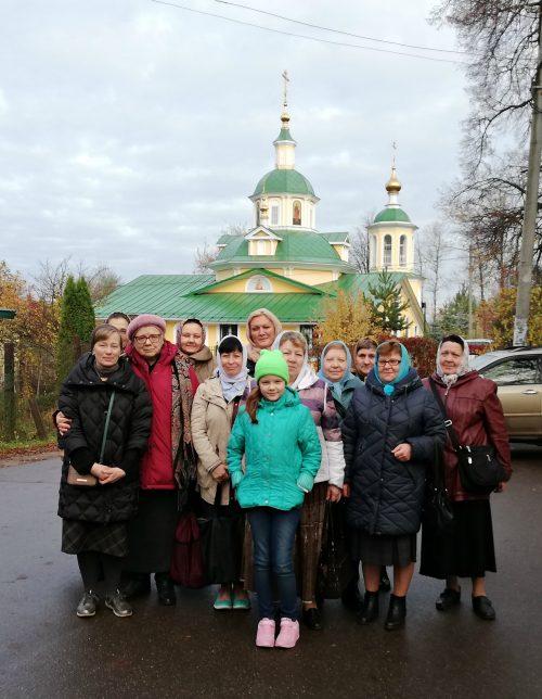 Прихожане Смоленского храма совершили паломничество по святыням Одинцовского района Подмосковья