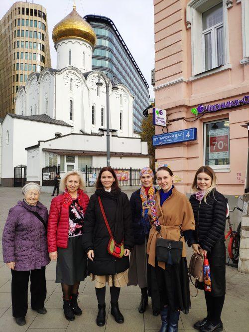 Прихожане храма священномученика Ермогена в Крылатском посетили подворье Валаамского монастыря