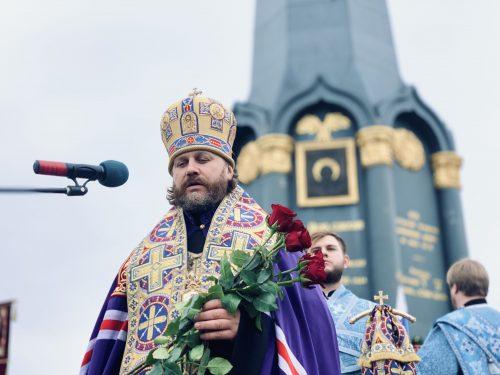 Владыка Фома совершил совершил Литургию Спасо-Бородинском женском монастыре