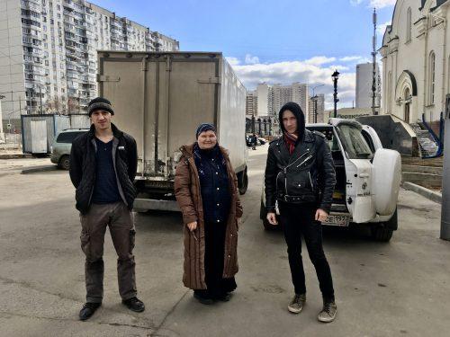 Храм Андрея Рублева в Раменках отправил гуманитарную помощь Сольбинскому приюту