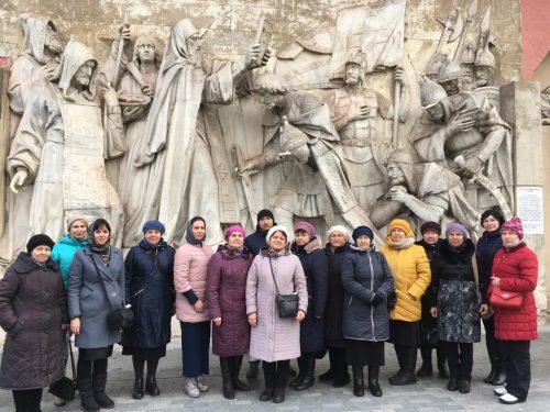 Богомольцы из Поволжья посетили святыни Первопрестольного града
