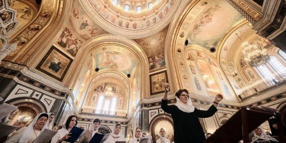 Храм преподобного Сергия Радонежского принял участие в организации и проведении II Международного съезда регентов и певчих Русской Православной Церкви