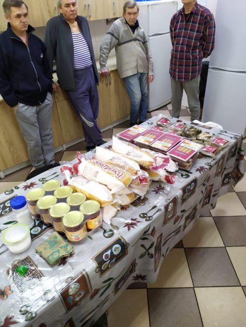 Социальная служба храма Андрея Рублева продолжает оказывать регулярную помощь приюту для бездомных Востряково
