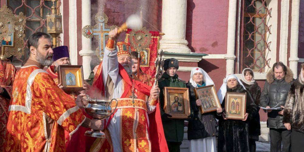День Ангела благочинного Михайловского церковного округа протоиерея Георгия Студенова