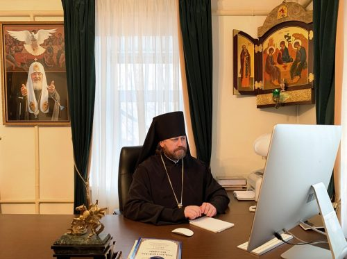 Епископ Павлово-Посадский Фома принял участие в ежегодном итоговом Епархиальном собрании г. Москвы