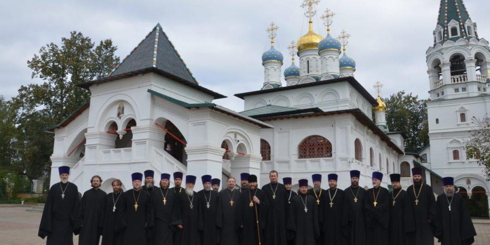 Выездное заседание Координационного совета Одинцовской епархии провел епископ Фома