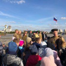 Священник Андрей Пирог совершил молебен перед стартом автопробега «Дорогами войны и Мира – 2021»