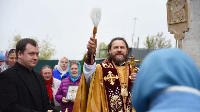 Епископ Одинцовский и Красногорский Фома в день памяти новомученицы Татианы (Гримблит) совершил Литургию в Татианинском храме