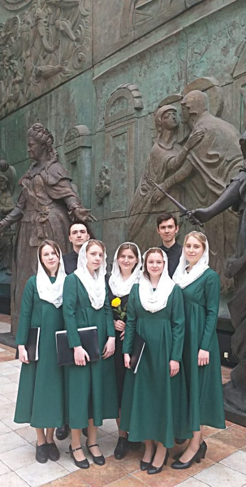 Молодежный хор храма прп. Андрея Рублева стал дипломантом Международного фестиваля-конкурса «Хрустальная часовня