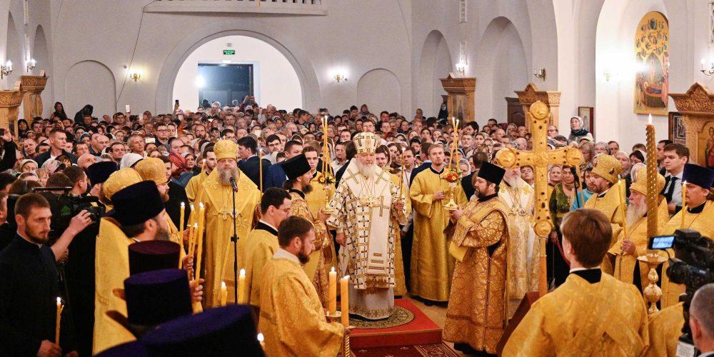 Епископ Фома сопровождает Святейшего Патриарха в ходе визита в Ростов-на-Дону (+ фото)