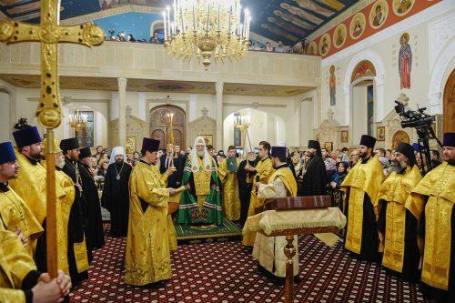 Епископ Фома присутствовал на малом освящении кафедрального собора святых Жен-мироносиц в Баку, которое совершил Святейший Патриарх Кирилл