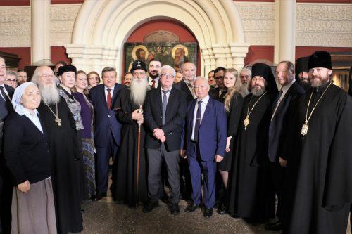 Епископ Фома принял участие в церемонии открытия выставки «Дмитрий Донской. Государь. Воин. Защитник веры»