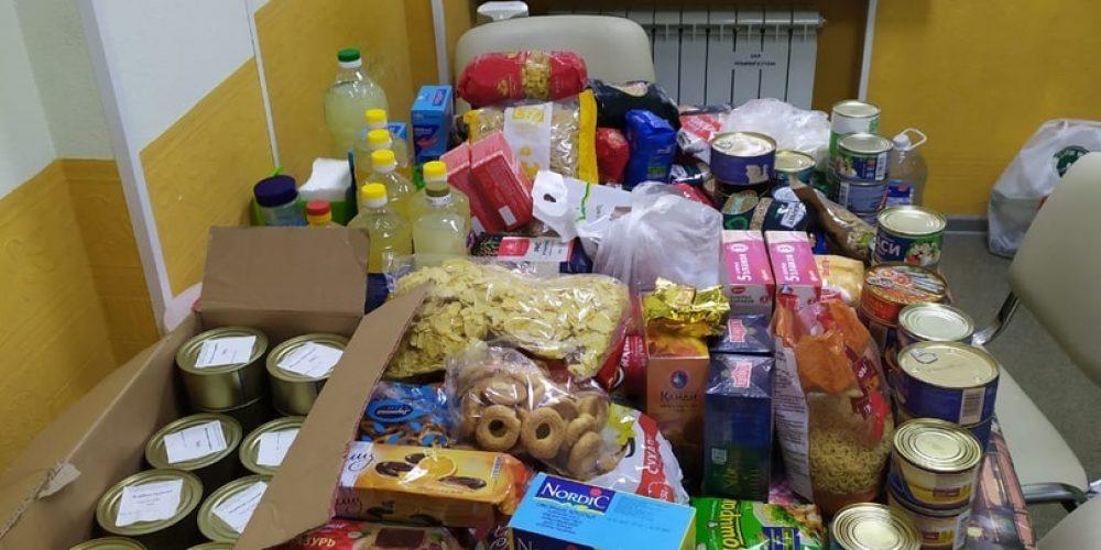 В храме прп. Андрея Рублева продолжается акция «Соберем продукты для бездомных и малоимущих»