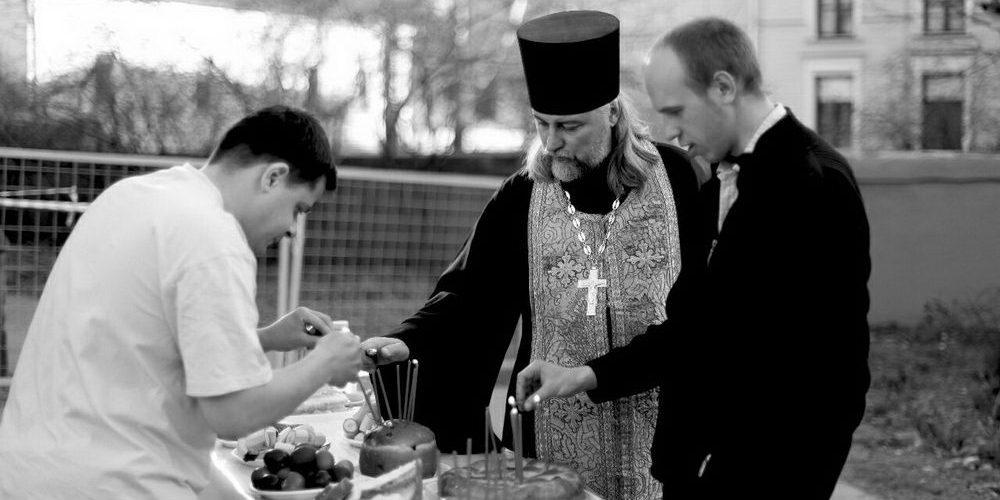 """Пасха 2011 в Центре Равных Возможностей для детей-сирот """"Вверх"""""""