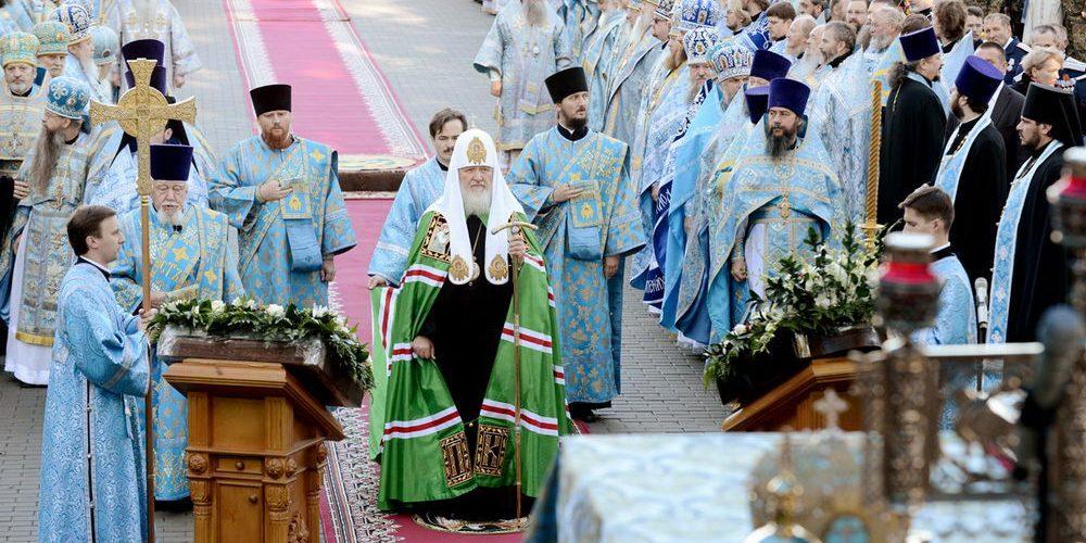 Патриаршее служение в годовщину Бородинского сражения