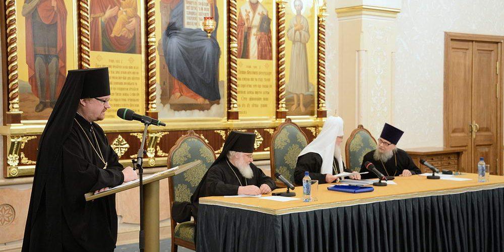 Святейший Патриарх Кирилл возглавил расширенное заседание Епархиального совета города Москвы