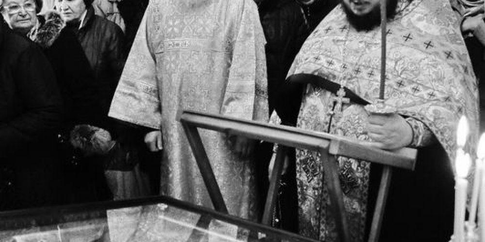 16 марта 2013 года в деревянном храме при строящемся храме святителя Иова Патриарха Московского и всея Руси (Можайское шоссе, вл. 54) был отслужен молебен