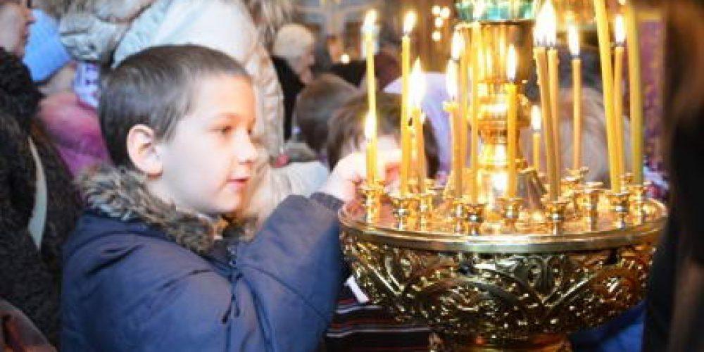 Детская молитва в дни Великого поста