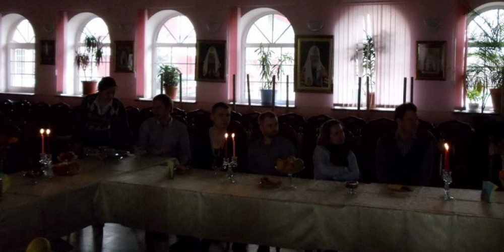 Состоялась встреча молодых пар, обвенчавшихся 14 октября 2012 г.