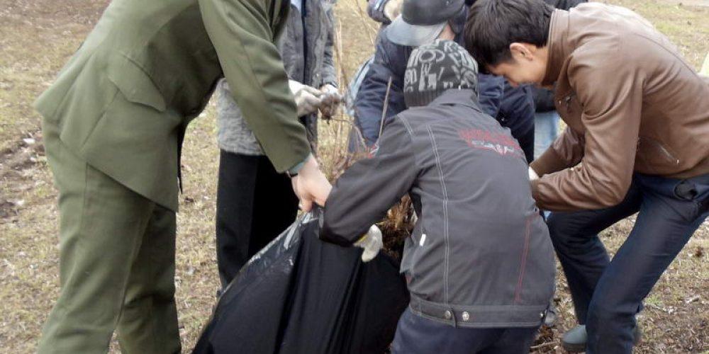 Прошла экологическая акция «Борьба за чистоту и порядок» (субботник)
