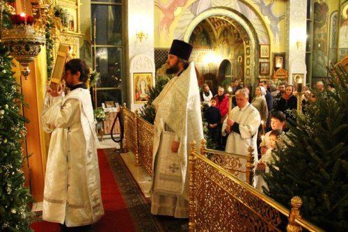 Рождественская Божественная Литургия в ночь с 6-го на 7-е января