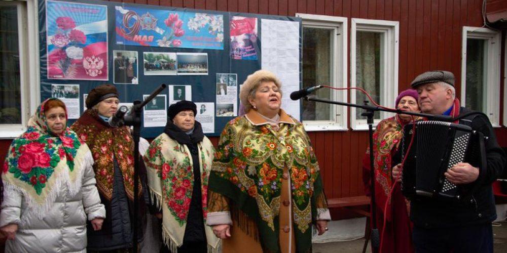 Праздничные мероприятия, состоявшиеся 4 ноября в храме прп. Серафима Саровского в Кунцеве