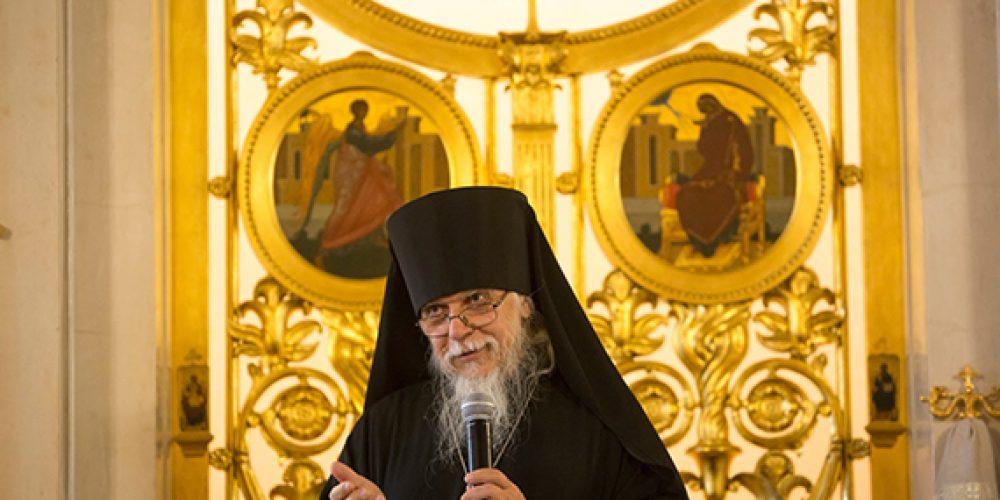 Епископ Орехово-Зуевский Пантелеимон, председатель Синодального отдела по церковной благотворительности, встретился с московским больничным духовенством и сформулировал 7 правил больничного служения