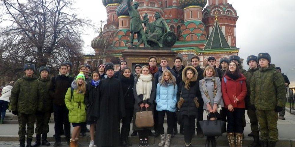 Благодарные потомки подвига гражданина Кузьмы Минина и князя Дмитрия Пожарского