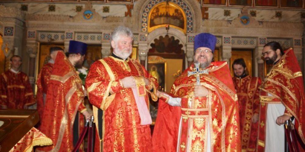 21 ноября в день Престольного праздника в храме-часовне Архангела Михаила близ Кутузовской избы была отслужена   праздничная  Божественная Литургия