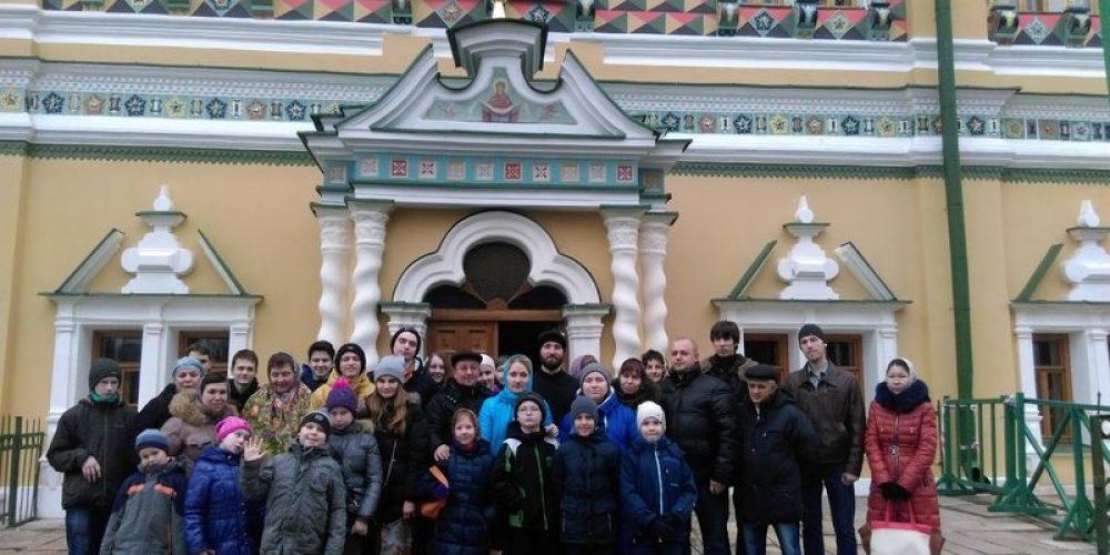 22 ноября состоялась паломническая поездка в Свято-Троицкую Сергиеву Лавру.