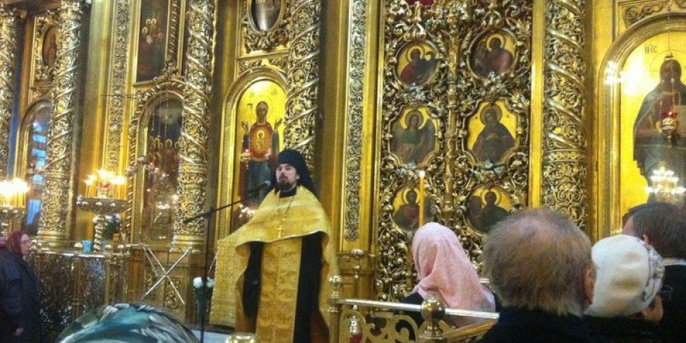 Проповедь в Богоявленском Кафедральном Соборе