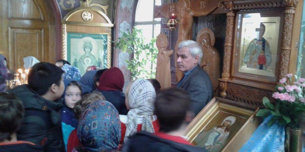 Экскурсия в храме