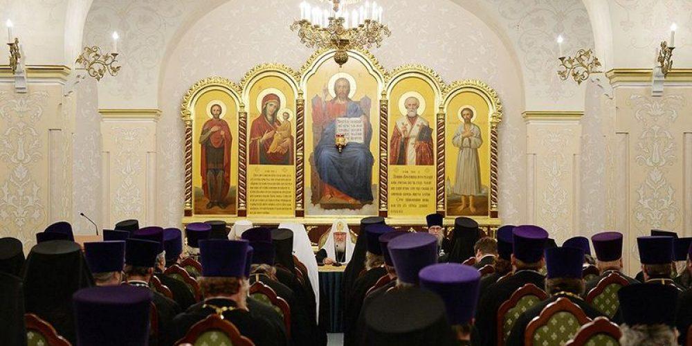 Под председательством Святейшего Патриарха Кирилла состоялось расширенное заседание Епархиального совета г. Москвы
